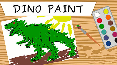 Dino paint captura de pantalla 1