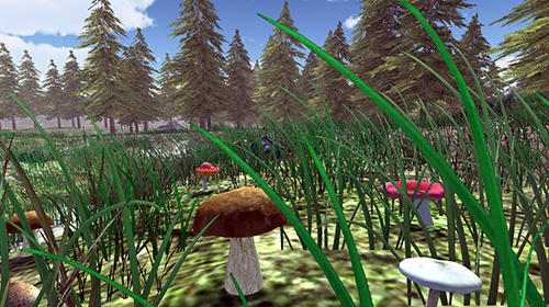 Real mushroom hunting simulator 3D screenshot 1
