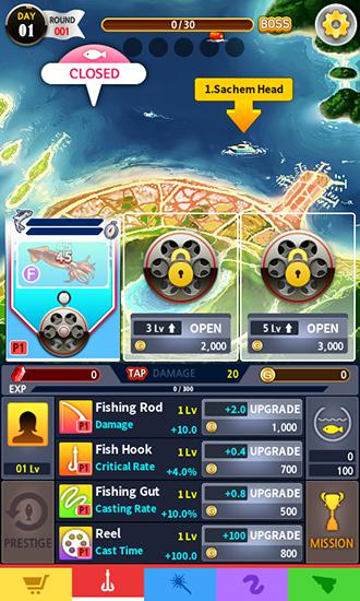 d'arcade Tap fishing master pour smartphone