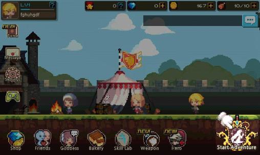 RPG-Spiele Crusaders quest für das Smartphone