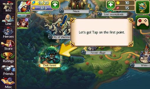 Epic forces screenshot 1