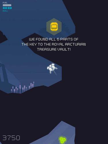 Screenshot Höhlenaut auf dem iPhone