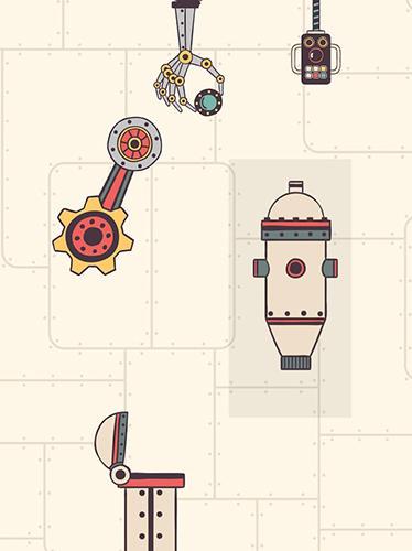 Steampunk puzzle: Brain challenge physics game Screenshot