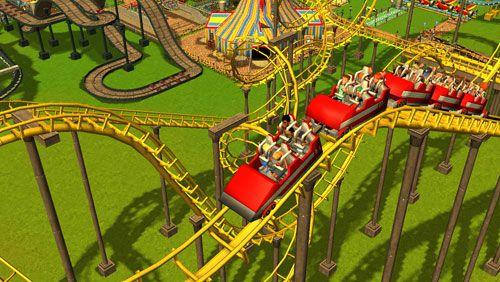 Roller Coaster Tycoon 3 auf Deutsch