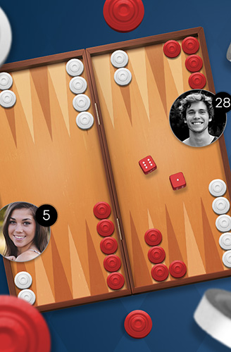 Backgammon Go: Best online dice and board games für Android