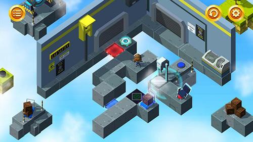 Puzzle-Plattformer Kinetikos auf Deutsch