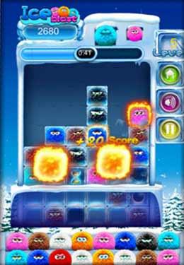 Eisexplosion für iPhone