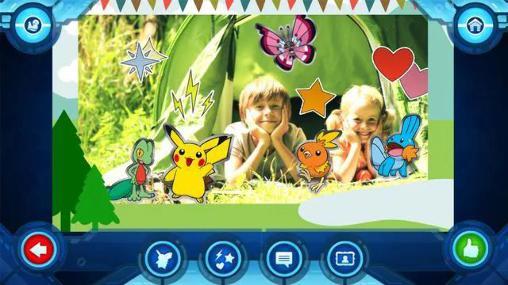 Camp pokemoncapturas de pantalla