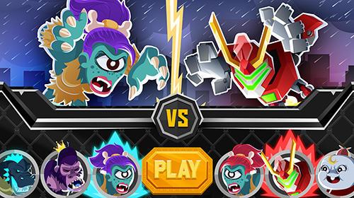 Arcade UFB rampage: Ultimate monster championship für das Smartphone