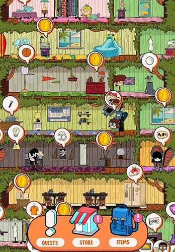 klassischen Quests Loud house: Ultimate treehouse auf Deutsch