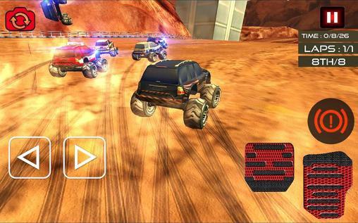 Monster truck racing ultimate auf Deutsch