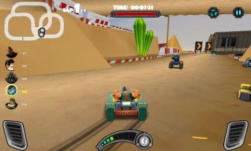Racing tank en español