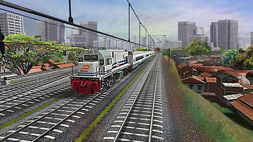 Indonesian train simulator auf Deutsch