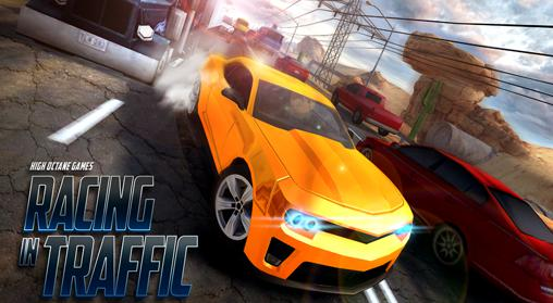 Racing in traffic screenshots