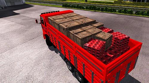 Truck driver simulation: Cargo transport auf Deutsch
