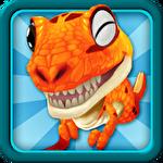 Dino run: Jurassic escape icône