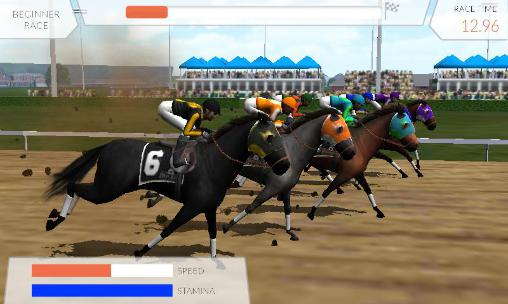 Simulation Photo finish: Horse racing pour smartphone