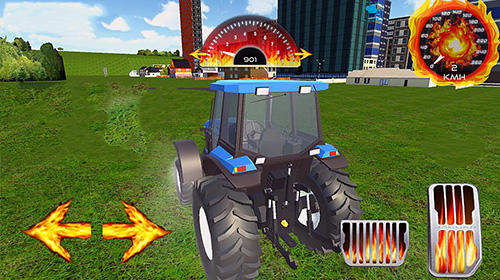 Realistic farm tractor driving simulator for Android