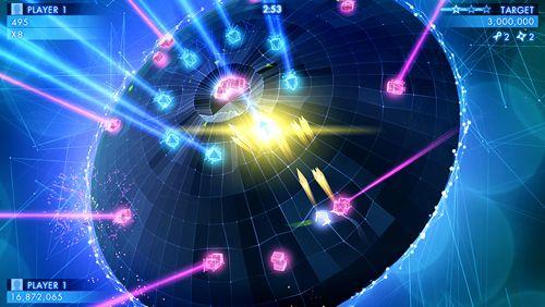 Screenshot Geometrie-Krieg 3: Dimensionen auf dem iPhone