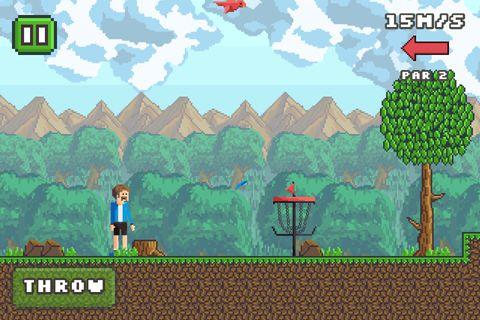 Pixel Diskus Golf für iPhone