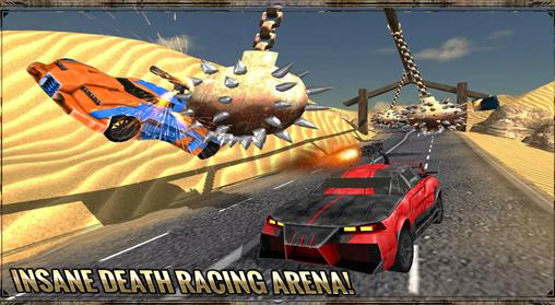 Derby-Spiele Desert death: Racing fever 3D auf Deutsch