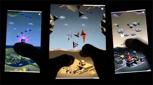 Arcade-Spiele: Lade Deflecto auf dein Handy herunter