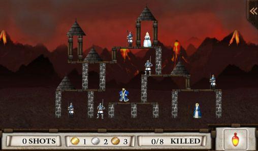 Crush the castle captura de pantalla 1