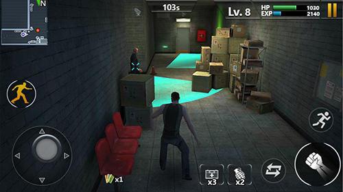 Action Prison escape by Words mobile für das Smartphone
