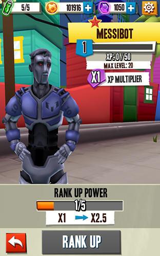 Arcade-Spiele Messi runner für das Smartphone