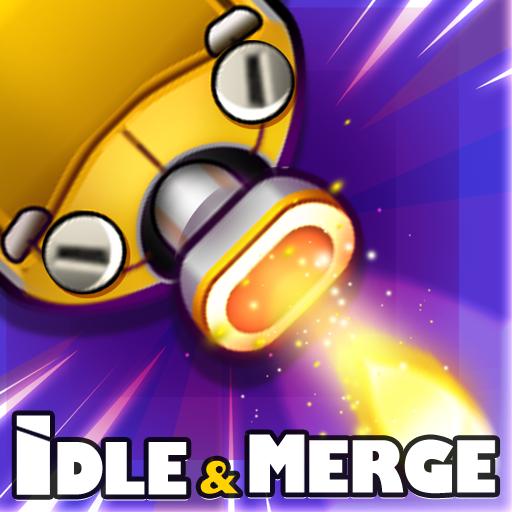 Cybershock : TD Idle & Merge ícone
