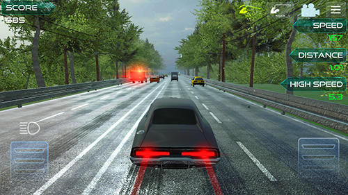 Highway asphalt racing: Traffic nitro racing скріншот 1