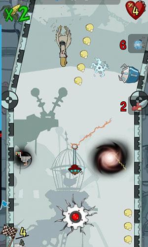 Juegos de arcade Chickens Can't Fly para teléfono inteligente
