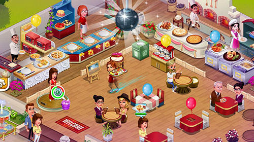 Cafe tycoon in English
