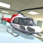 Helicopter RC flying simulator Symbol