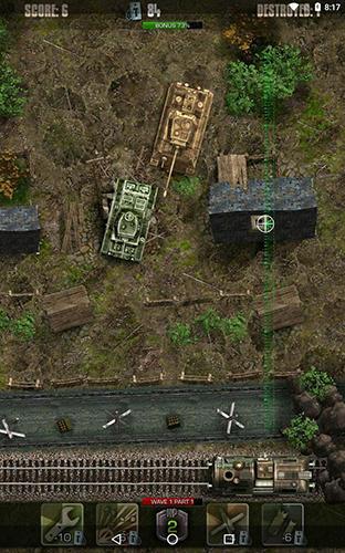 Arcade Tigers: Waves of tanks für das Smartphone