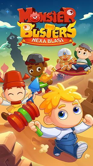 Monster busters: Hexa blast Screenshot