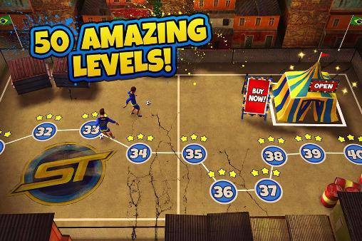 Skilltwins: Football game captura de tela 1