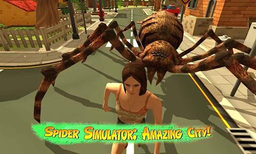 Spider simulator: Amazing city! скріншот 1