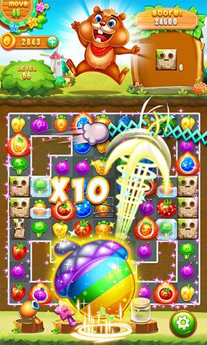 Arcade-Spiele Farm swap für das Smartphone