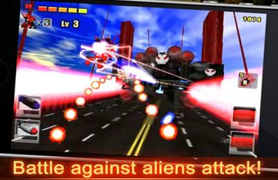 Arcade-Spiele: Lade 3D Schlacht 2: Eiserner Schlag auf dein Handy herunter