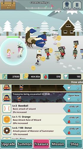 Infinity dungeon 2: Summon girl and zombie Screenshot