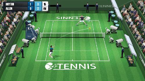 Pocket tennis league pour Android