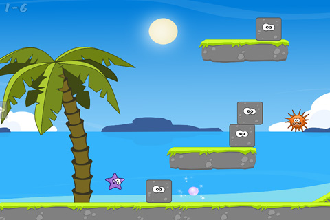 Маленькая морская звезда для iPhone бесплатно
