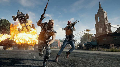 d'action Player unknown's battlegrounds (PUBG) pour smartphone