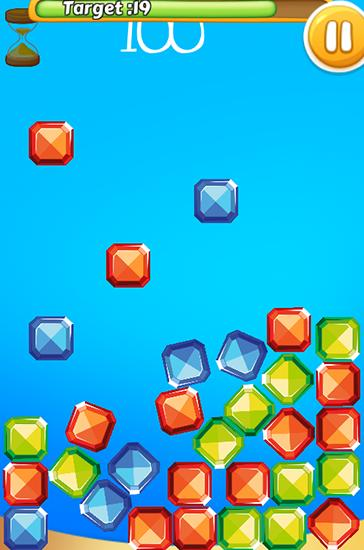 Jewel rush: Match color für Android