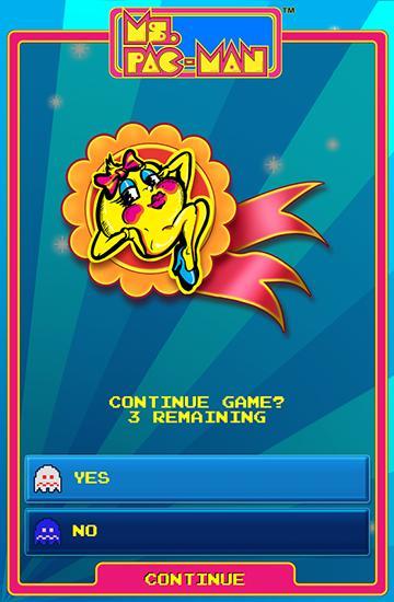 Ms. Pac-Man by Namco auf Deutsch