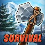 Survival game winter island 3D icon