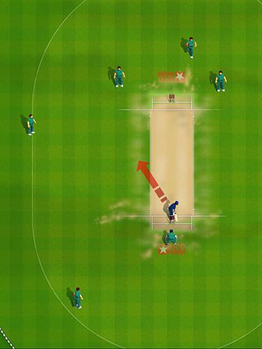 Sportspiele New star cricket für das Smartphone