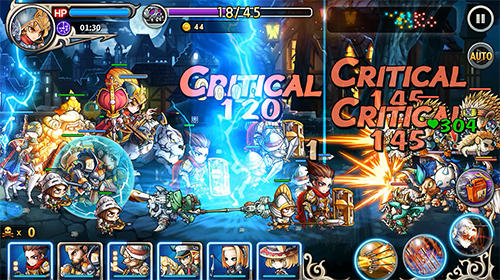 Mystic heroes für Android