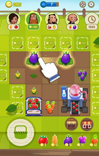 Logikspiele Merge farm! für das Smartphone
